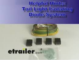 wiring kit needed for dinghy towing a 2009 subaru forester behind tail light isolating diode system demonstration