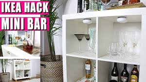GLAM Mini BAR  IKEA HACK