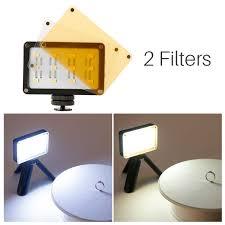 Đèn LED Sạc Ulanzi Rechargeble LED Video Light 12 Tấm Màu, Kích Thước Nhỏ  Gọn, Dung Lượng Pin Lớn 2250mAh - Hàng Chính Hãng - Đèn Flash và phụ kiện