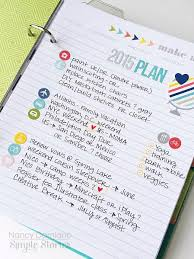 Life Documented Planner Goals And Plans With Nancy Damiano