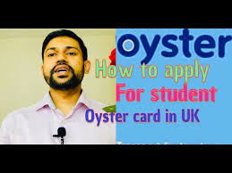 how to apply for student oyster card in
