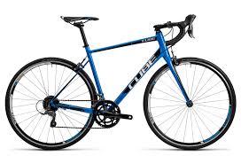Cube Road Bike Size Chart Cube 2016 Road Bike Attain Shimano Claris 8s Blue Black