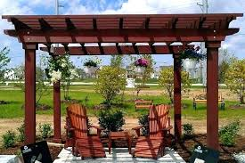 wood pergolas x rough select pergola with retractable canopy for wooden
