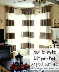 diy window coverings painted striped curtains and window diy bamboo window valances