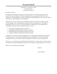 Best Admissions Counselor Cover Letter Examples | LiveCareer