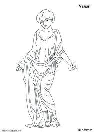 Disegno Da Colorare Venere Cat 4188 Aphrodite Coloring Page