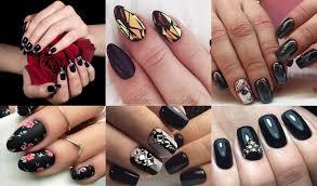 Y si realmente quieres que tus uñas se destaquen, puedes optar por la moda del degradé, en la que el blanco lo último en uñas acrílicas. Https Disenodeunaso Blogspot Com 2019 12 Disenos De Unas Acrilicas Negras 2019 30 Html