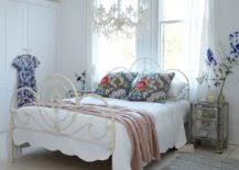 bedroom chandelier ideas. Modren Bedroom View In Gallery Spacious Brick Walled Bedroom With Twin Chandeliers And Bedroom Chandelier Ideas