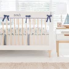 nautical baby bedding hook line sinker crib rail collection