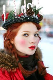 yule winter solstice makeup elf