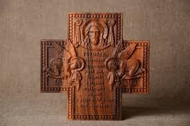 decorative crosses wall wooden cross decorative unusual accessories big carved wall decor madeheart com