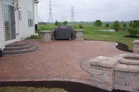 Sightly Design In Brick Patio Ideas Home Designs Also Brick Paver Patio  Then Image in Brick