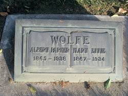 Mary Effie Bagley Wolfe (1867-1934) - Find A Grave Memorial