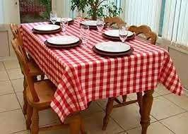 country style new table cloth red gingham tablecloth assorted sizes cotton kitchen round checd tablecloths