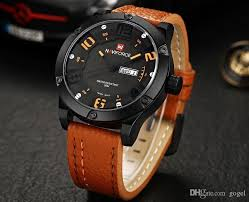 new brand watches leather strap military army wristwatch thick new brand watches leather strap military army wristwatch thick brown black leather business watch man large dial waterproof sports watches men watches