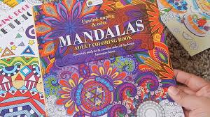 Mandala Coloring Book Targetl