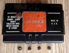 sun gauges vintage sun tachometer transmitter eb 9a 12 volts 8 cylinders