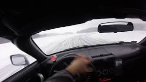 Ice Attack 2017! Toyota mr2 2zzge drift - studded tires 2 - YouTube