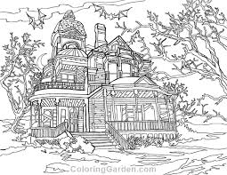 Small Picture House Adult Coloring Page