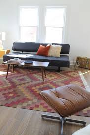 kilim rug and mid century modern vintage coffee table intended for inspirations 11