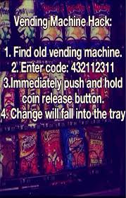 Vending Machine Change Hack Best Musely