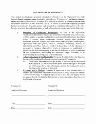 Consulting Agreement In Pdf Cool Generic Nda Template Luxury Agreement Phenomenal Mutual Non