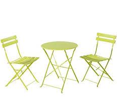 folding patio furniture set. grand patio premium steel bistro set, folding outdoor furniture sets, 3 piece set e