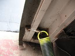 image of garage door extension springs replacement