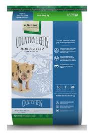 Mazuri Mini Pig Feeding Chart Country Feeds Mini Pig Food Nutrena