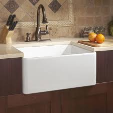 White Apron Kitchen Sink 24 Reinhard Fireclay Farmhouse Sink White Farmhouse Sinks