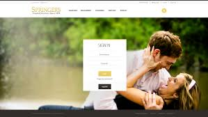 Responsive Web Design Login Page Springers Jewelers Gregory Jacobs Designs