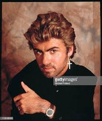 young george michael 80s. Simple Young George Michael Studio Portrait London 1987 And Young 80s E