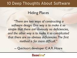 Software Quote Delectable Quote About Software Design CAR Hoare Quotes Pinterest