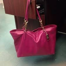 Coach Madison East West Tote