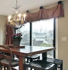 valances for sliding glass doors what