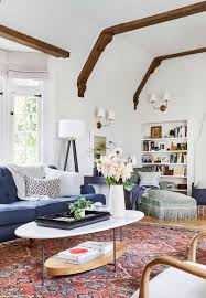 emily henderson modern english cottage tudor living room reveal9