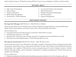 resume beer s resume program 1 81 thumbnail functional resume wine s rep resume examples and samples beverage s resume