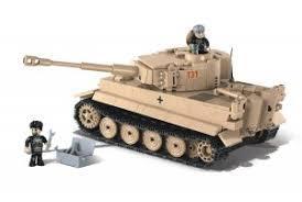 """Пластиковый <b>конструктор COBI</b> """"Танк Tiger I 131"""" - COBI-2519"""