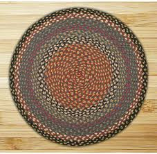 image of small round kitchen rug