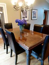 Before And After Maple Or Oak Country Style Table Update Ideas For Adorable Paint Dining Room Table Property