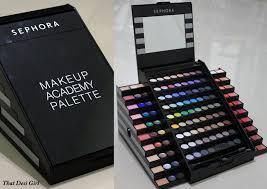 sephora makeup academy palette review 2018 mugeek vidalondon