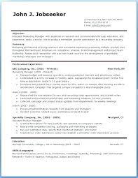 Professional Resume Templates Districte15 Info