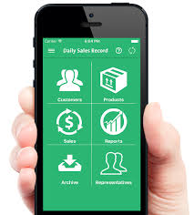 App Sales Daily Sales Record Simple Sales Tracking Management