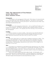 tom sawyer essays huckleberry finn in adventures of huckleberry writing book report