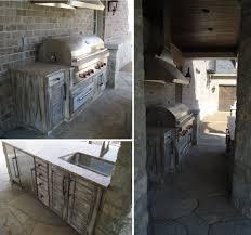 Rustic Outdoor Kitchen Cabinetry Beckallen Cabinetry