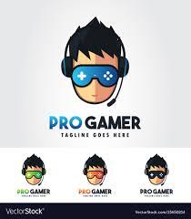 Gaming Logo Design Free Pro Gamer Gaming Logo Design Template Bundle
