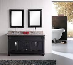 Bathrooms Cabinets : Black Bathroom Mirror Cabinets With Recessed ...