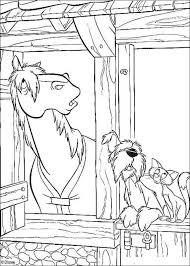 Kleurplaten Paarden En Honden