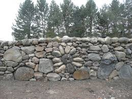 Small Picture Rock Walls Landscaping Stone flower design built into drystacked