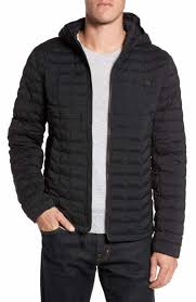 Men's The North Face Quilted, Puffer & Down Jackets | Nordstrom & The North Face Packable Stretch ThermoBall™ PrimaLoft® Jacket Adamdwight.com